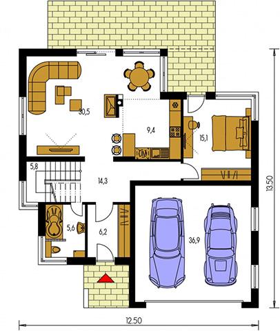 Rodinný dom Cuber 2