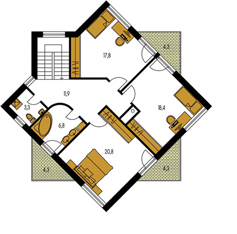 Rodinný dom Cuber 3