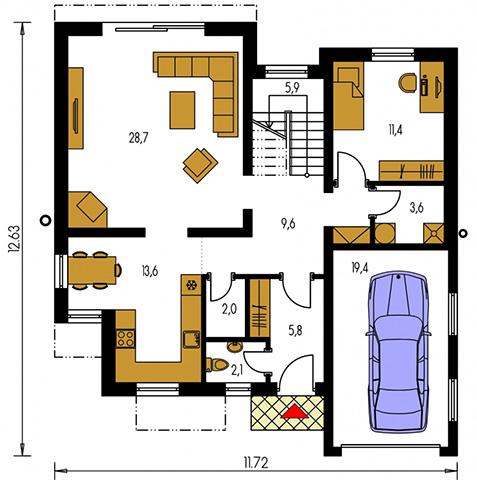 Rodinný dom Cuber 11