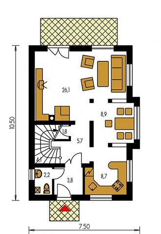 Rodinný dom Elegant 99