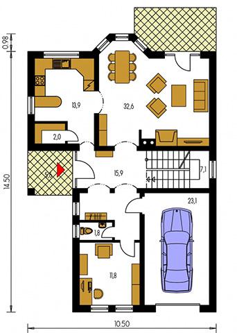 Rodinný dom Elegant 121