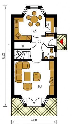 Rodinný dom Klassik 102