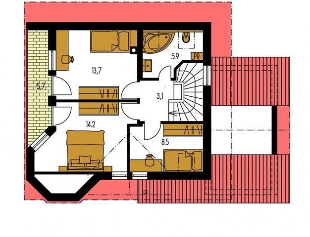Rodinný dom Klassik 103