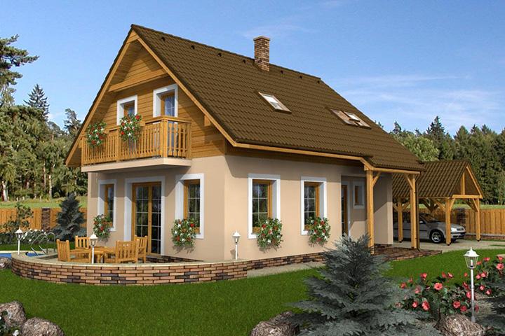 Rodinný dom Klassik 104