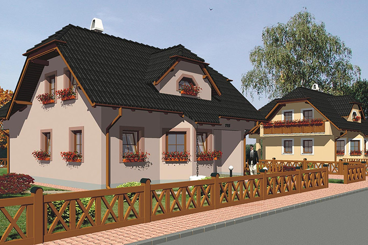 Rodinný dom Klassik 115