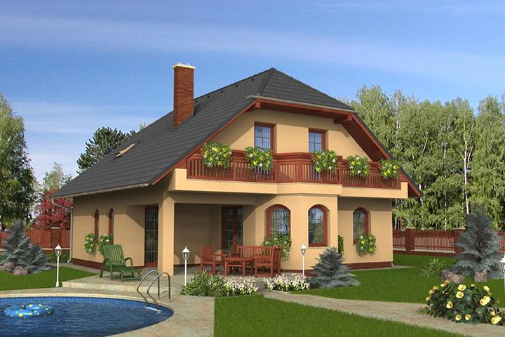 Rodinný dom Klassik 125