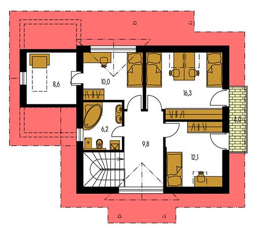 Rodinný dom Klassik 142