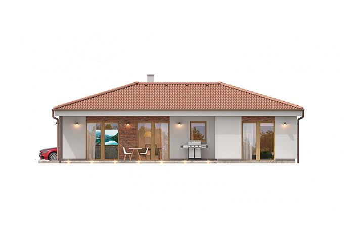 Rodinný dom Bungalow 221