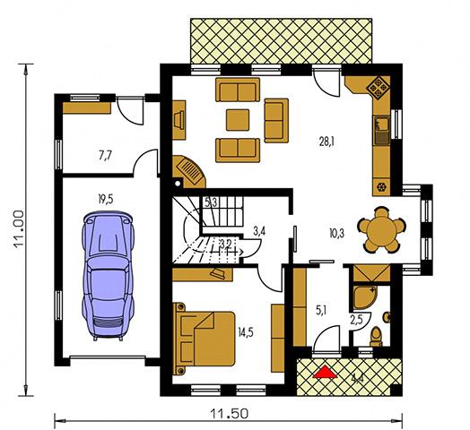 Rodinný dom Klassik 149