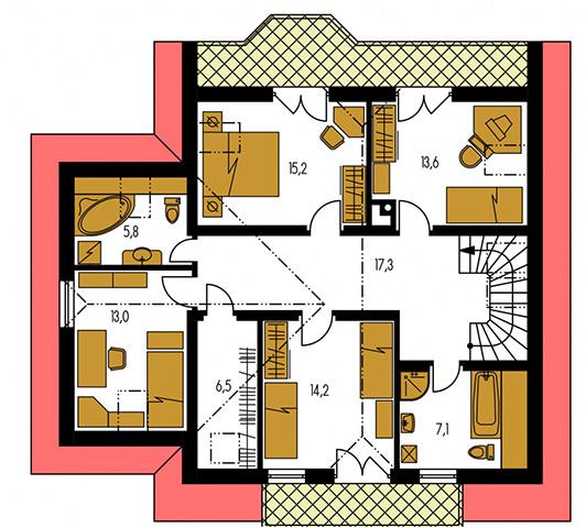 Rodinný dom Klassik 154