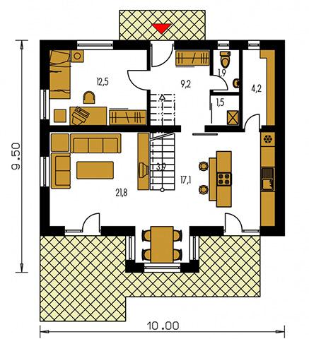 Rodinný dom Klassik 167
