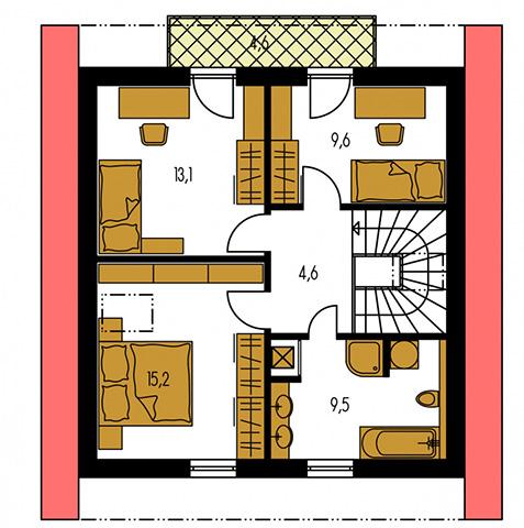 Rodinný dom Kompakt 34
