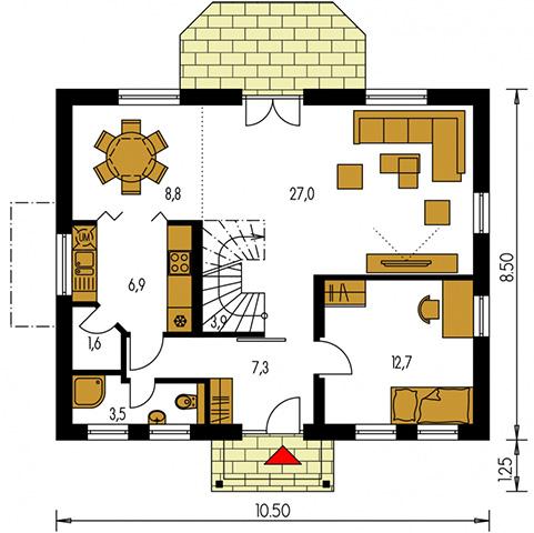 Rodinný dom Kompakt 45