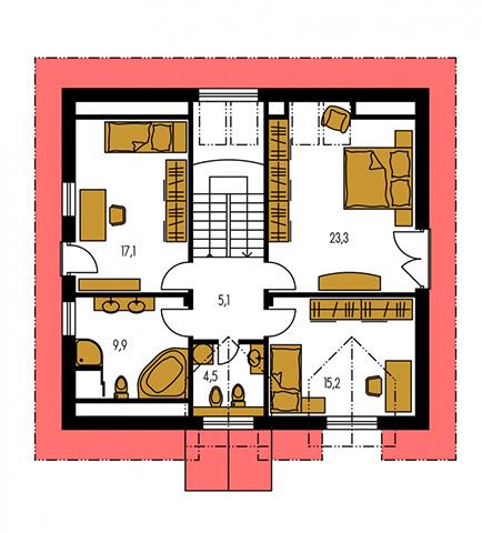 Rodinný dom Kompakt 46