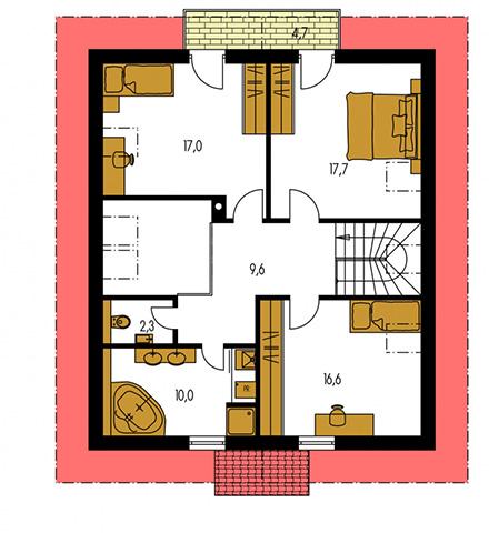 Rodinný dom Kompakt 48