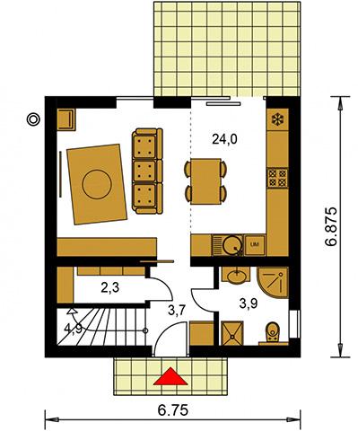 Rodinný dom Zen 1