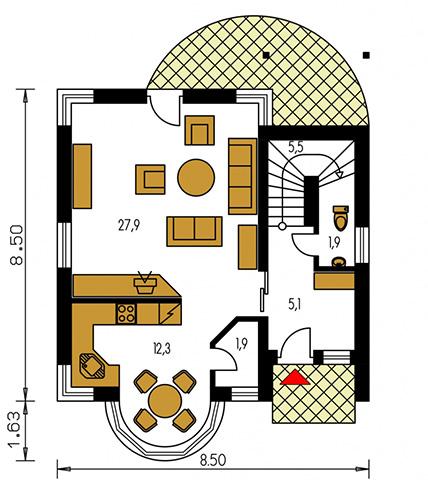 Rodinný dom Milenium 225