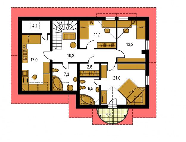 Rodinný dom Milenium 226