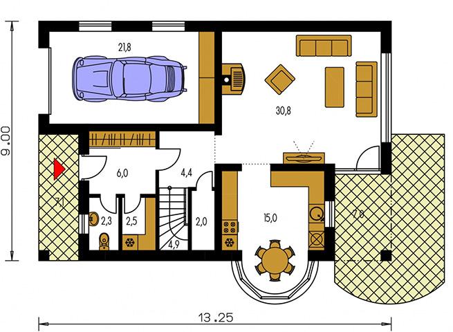 Rodinný dom Milenium 230