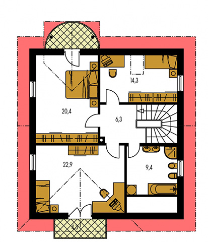 Rodinný dom Milenium 234