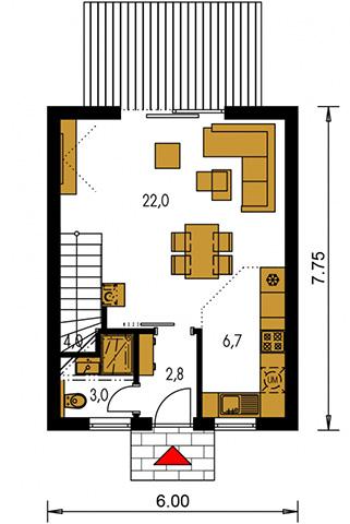 Rodinný dom Zen 2