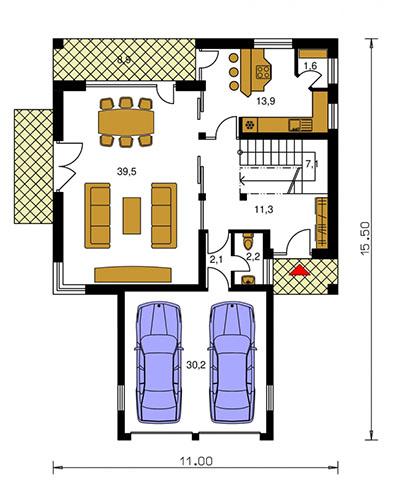 Rodinný dom Nova 223