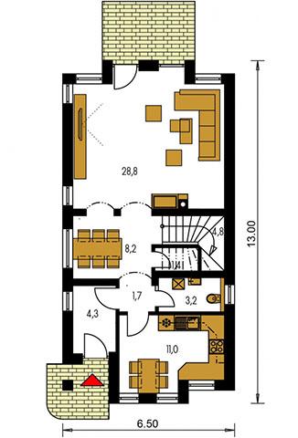 Rodinný dom Premier 56
