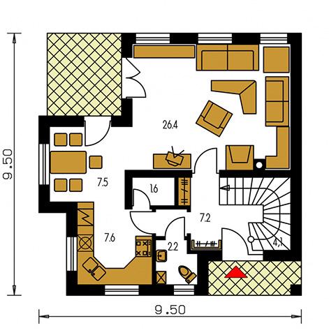 Rodinný dom Premier 83