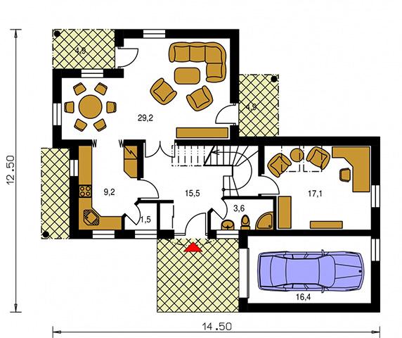 Rodinný dom Premier 96