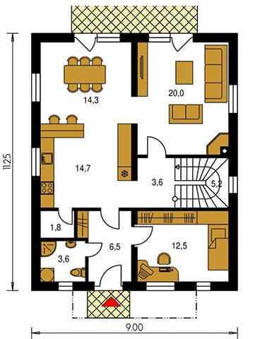Rodinný dom Premier 155