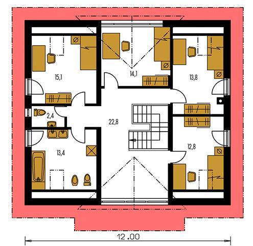 Rodinný dom Premier 174