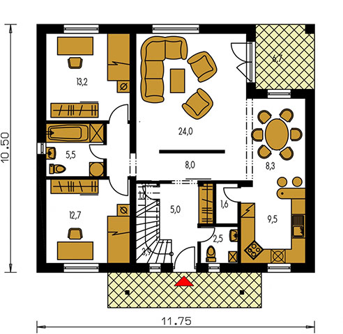 Rodinný dom Premier 175