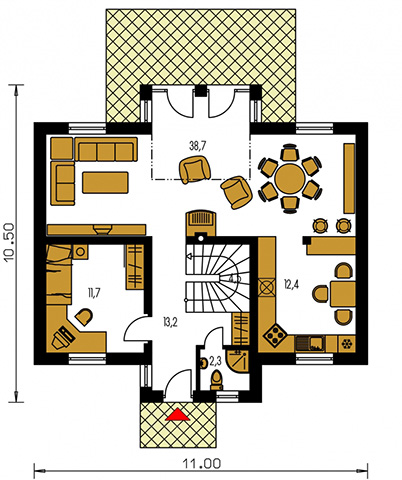Rodinný dom Premier 178
