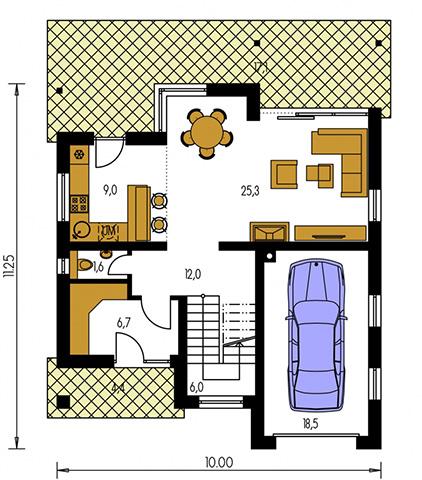 Rodinný dom Premier 180