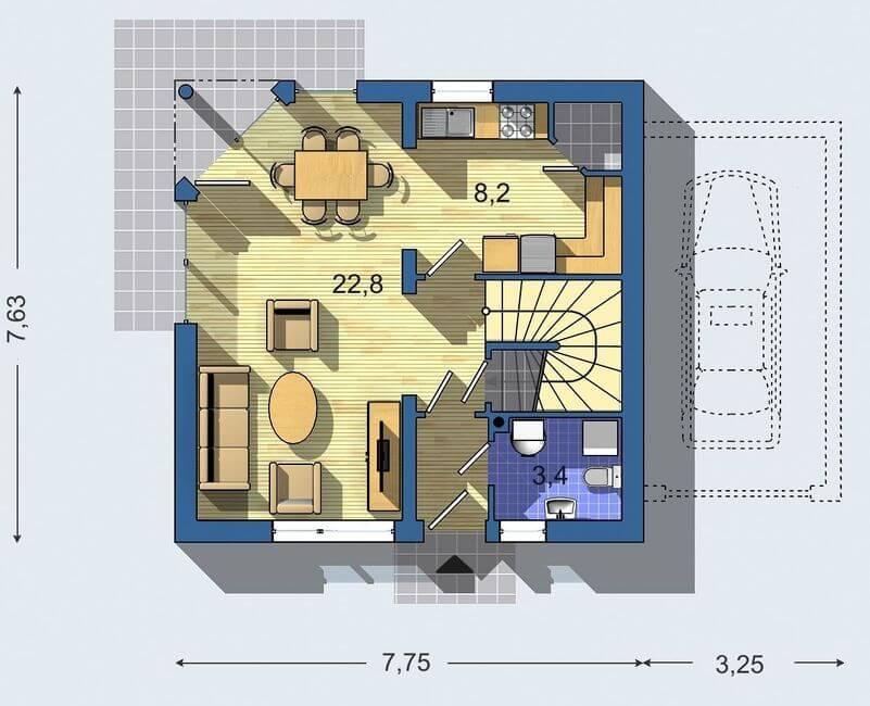 Rodinný dom Aktual 420