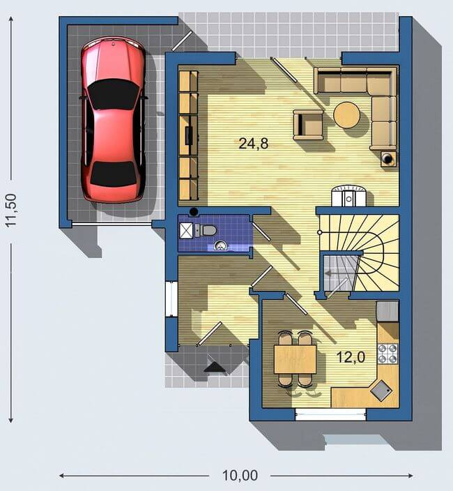 Rodinný dom Aktual 039