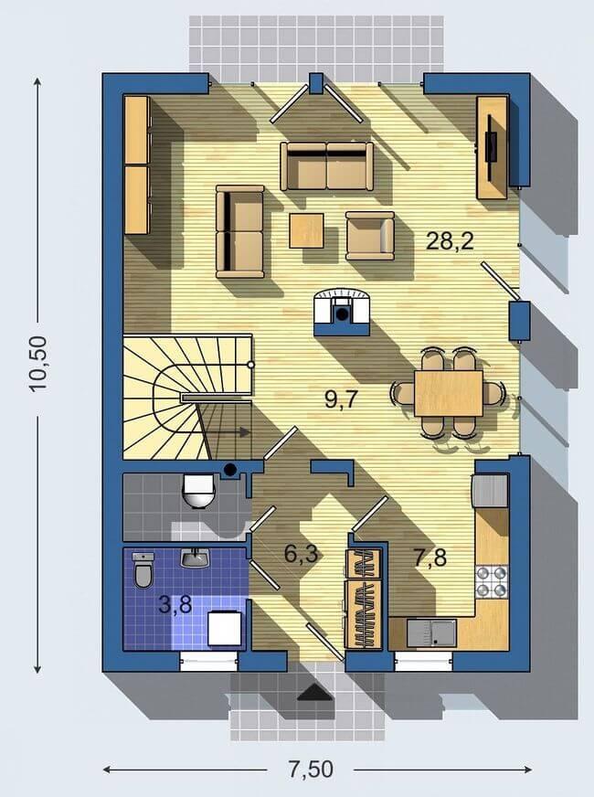 Rodinný dom Aktual 029