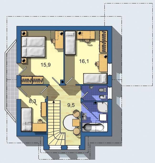 Rodinný dom Aktual 030