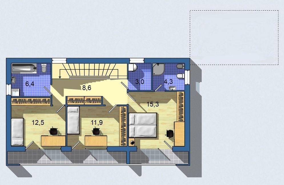 Rodinný dom Ekoline 270