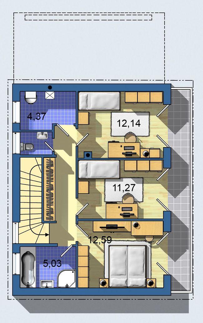 Rodinný dom Ekoline 273