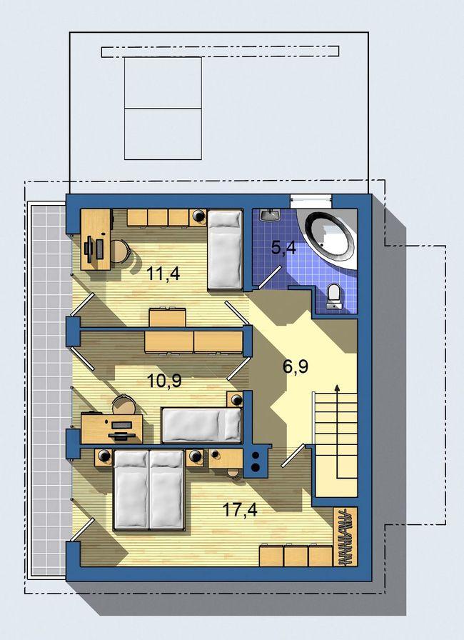 Rodinný dom Ekoline 433