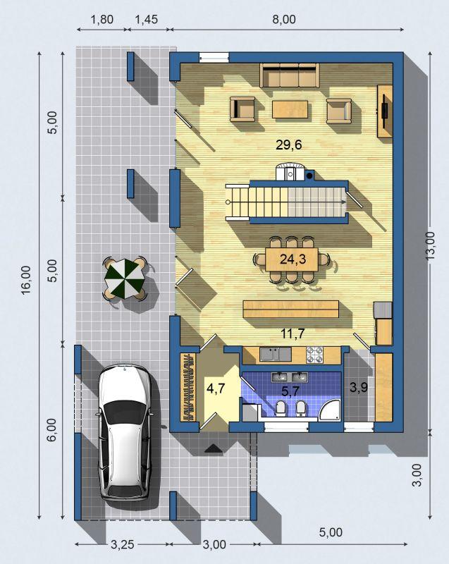 Rodinný dom Ekoline 733