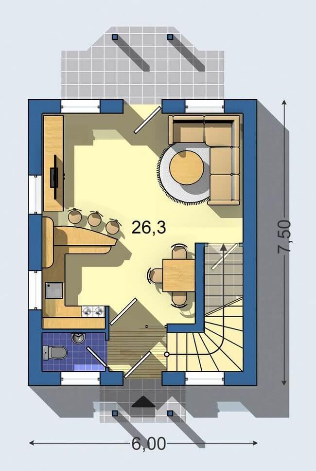 Rodinný dom Praktik 058