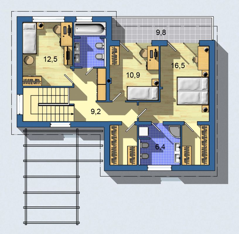 Rodinný dom Ekoline 734