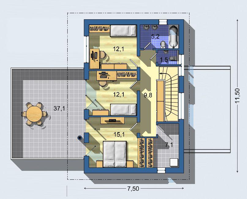 Rodinný dom Ekoline 1237