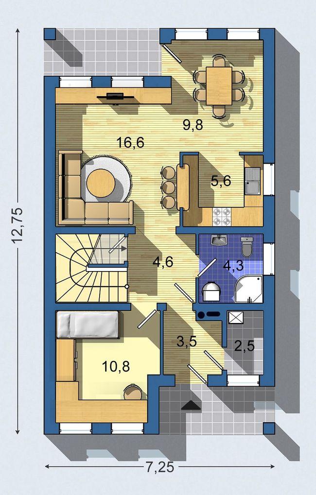 Rodinný dom Rustikal 010