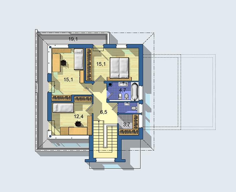 Rodinný dom Optimal 1438