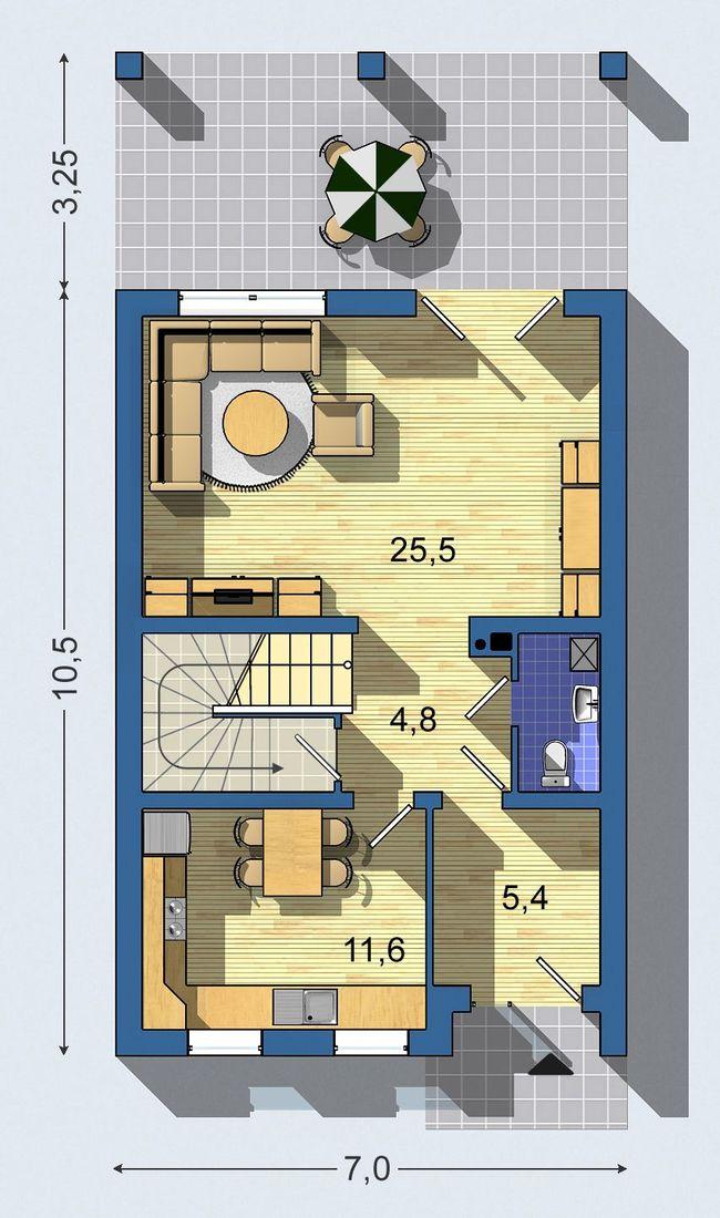 Rodinný dom Rustikal 012