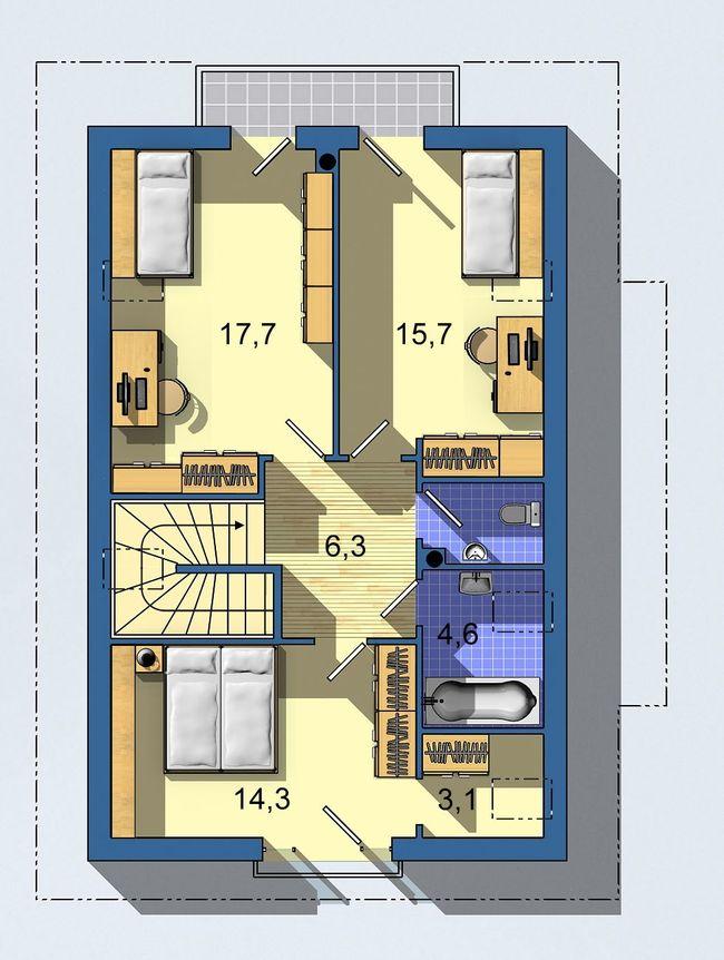 Rodinný dom Rustikal 407