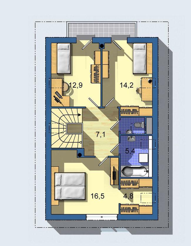 Rodinný dom Rustikal 508